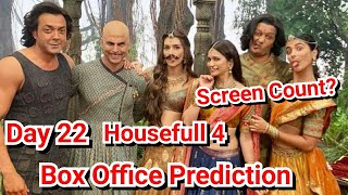 Housefull 4 Box Office Prediction Day 22 With Screen Count Details