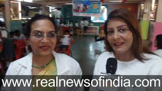Special Coverage Dental Camp in Bandra Hindu Association School Children