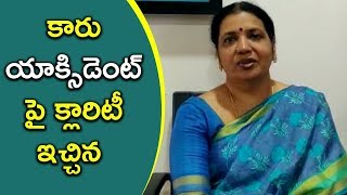 Jeevitha Responds Over Rajasekhar Car Accident - Bhavani HD Movies