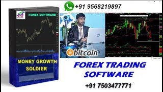 FOREX TRADING SOFTWARE || MONEY GROWTH SOLDIER SETUP 99% WORKING