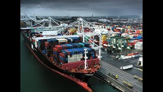Trade deficit narrows to $11 billion in October; Exports dip 1.11%, import contracts 16.31%