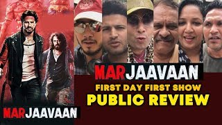Marjaavaan PUBLIC REVIEW | First Day First Show | Sidharth Malhotra, Riteish, Rakul, Tara Sutaria