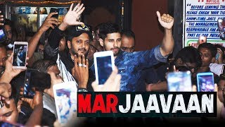 MARJAAVAN | Sidharth Malhotra And Riteish Deshmukh Meets Fans At Gaiety Galaxy