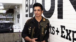 Sonu Sood At The 2nd Anniversary Celebration Of BBlunt Salon