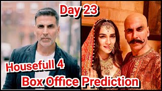 Housefull 4 Box Office Prediction Day 23