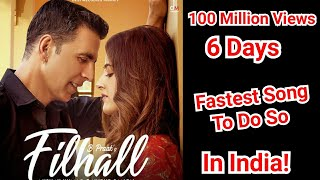 Akshay Kumar's Filhall Song Becomes Fastest Indian Song To Cross 100 Million Views In Just 6 Days