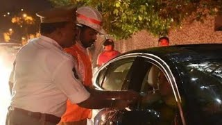 We Will Stop Drinking Alcohol If Govt Bans | Man Held By Traffic Police In Drunk and Drive | BP - DT