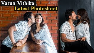 Varun sandesh, Vithika sheru Latest Photo shoot