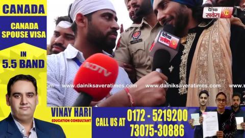 ਦੇਖੋ Satinder Sartaaj ਕਿ ਬੋਲਿਆ Kartarpur Corridor ਬਾਰੇ | Dainik Savera