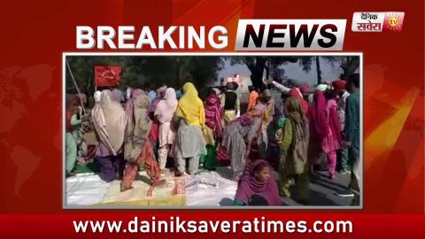 Breaking: Lehragaga में दलित नौजवान की मौत के बाद बड़ा प्रदर्शन शुरू