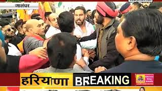 #JALANDHAR : बीजेपी और अकाली नेताओं में झड़प