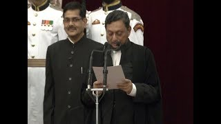 Sharad Arvind Bobde takes oath as the 47th Chief Justice of India
