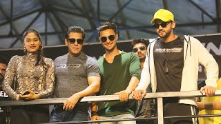 Salman Khan, Saiee Manjrekar, Aayush, Zaher  At Being Strong Event | Full Video | Dabangg 3