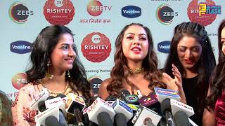 Reem Sameer Shaikh & Tujse Hai Raabta Team At Zee Rishtey Awards 2019 - Full Interview