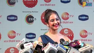 Ishq Subhan Allah Actress Tunisha Sharma At Zee Rishtey Awards 2019