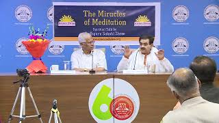 #Miracles of #meditation at Foreign Correspondents Club of South Asia, New Delhi