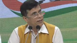 Pawan Khera addresses media on kashmir Situation