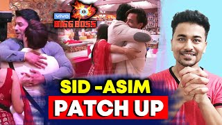 Bigg Boss 13 | Siddharth Shukla And Asim Riaz HUG And PATCH UP FInally | BB 13