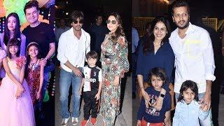 Aishwaryas Daughter Aaradhya Bachchans Grand Birthday Party   Shahrukh Khan, Ritesh, Karan Johar