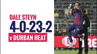 MSL 2019: Dale Steyn picks two important wickets against Heat