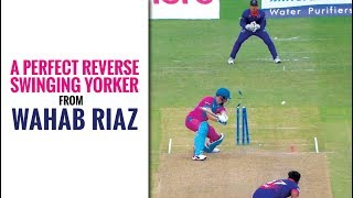 MSL 2019: Wahab Riaz's perfect yorker ends Miller's knock