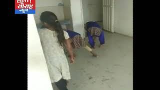 જાફરાબાદ-શાળામાં બાળકો પાસે સફાઈ કરાવાય