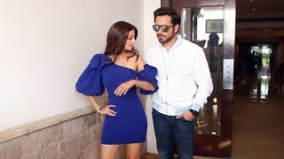 Emraan Hashmi Along With Vedhika Kumar Spotted Promoting Their Film The Body At Juhu