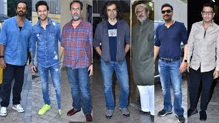 Tanhaji | Ajay Devgn Host An Special Trailer PREVIEW For B Town | Rohit Shetty, Bhansali
