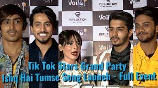 Ishq Hai Tumse Song Launch - FULL EVENT - Mr.Faizu,Adnaan,Husnain,Faiz And Shifa