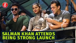 Salman Khan Attends Bodyguard Shera's Being Strong Launch