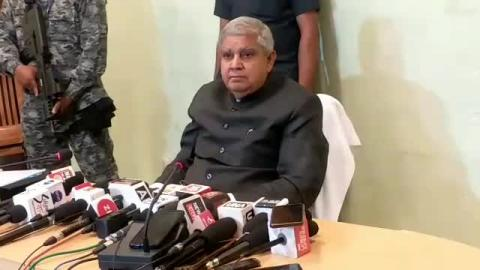 Governor Of West Bengal #Press_Meet