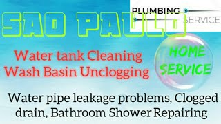 SAO PAULO   Plumbing Services 》Plumber at Your Home ☆ Bathroom Shower Repairing ◇near me ● ■ ♡¤▪●○°•
