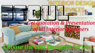 SEOUL     INTERIOR DESIGN SERVICES 》 QUOTATION AND PRESENTATION☆ Ideas ♡Living Room ♧Tips ■Bedroom