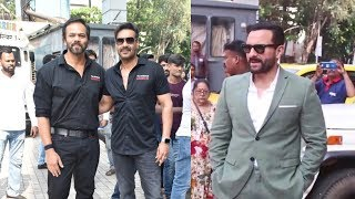 Ajay Devgn, Rohit Shetty, Saif Ali Khan And Sharad Kelkar GRAND ENTRY | Tanhaji Trailer Launch