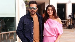 Emraan Hashmi And Vedhika Kumar Spotted Promoting Their Film The Body At Sun And Sand Juhu