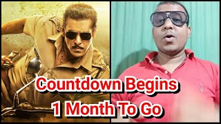 One Month To Go For Dabangg 3 Release Hows The Response Of Salman Khan Film So Far?