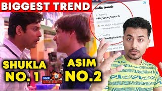 Bigg Boss 13 | Siddharth Vs Asim BIGGEST Trend On Social Media | BB 13 Latest Update
