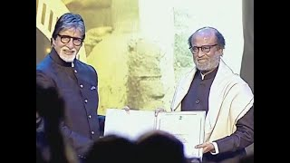 Superstar Rajinikanth honoured with Icon of Golden Jubilee award