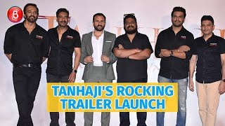 Tanhaji: The Unsung Warrior's Rocking Trailer Launch   Ajay Devgn   Saif Ali Khan   Sharad Kelkar