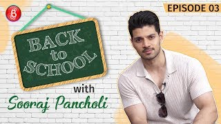 Sooraj Pancholi CONFESSES About The Weirdest Excuse To Bunk School | Back To School