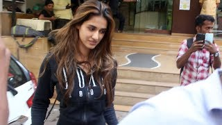 Salman Khan's Radhe Actress Disha Patani Spotted Veterinary Clinic At Khar