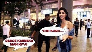 Gorgeous Ananya Pandey Spotted At Mumbai Airport
