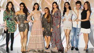 Falguni Shane Peacock Flagship Store Launch | Manushi Chillar, Fatima Sana Shaikh, Waluscha De Sousa