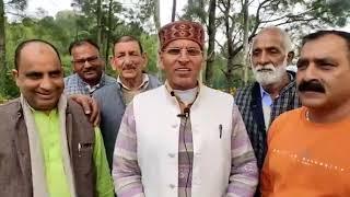 20 NOV N 5 वफरीं पंचायत के उपप्रधान संजीव कुमार ने अपनी जीत पर खुशी जताई