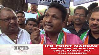 The Mhadei Protest: Congress Protest Outside ESG In Panjim