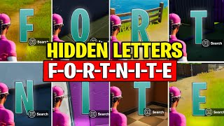 FREE ALTER EGO SKIN REWARDS | COLLECT F-O-R-T-N-I-T-E LETTERS HIDDEN in Loading Screen Fortnite