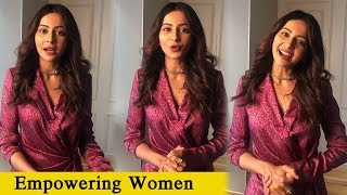 Rakul Preet Singh About Empowering Women In Rural Areas