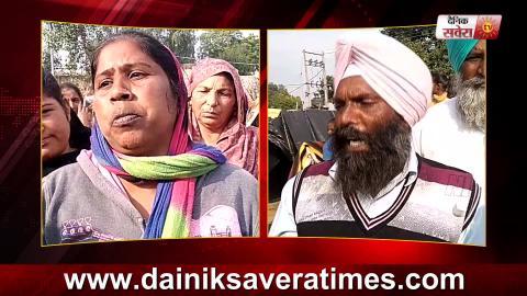 Tarn Taran के khawaspur में दलित समाज ने Sarpanch के खिलाफ खोला मोर्चा