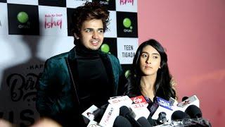Teen Tigada Fame Sameeksha , Bhavin Bhanushali, Vishal Pandey Full Interview On #RulaKeGayaIshqSong