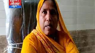 રાધનપુર પેટા કોન્ટ્રાક્ટર ની દાદાગીરી સામે પ્રમુખ લાલ  ઘુમ